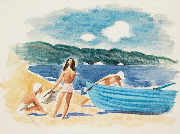 Artwork by Jack Hamilton Bush,  Summer Morning