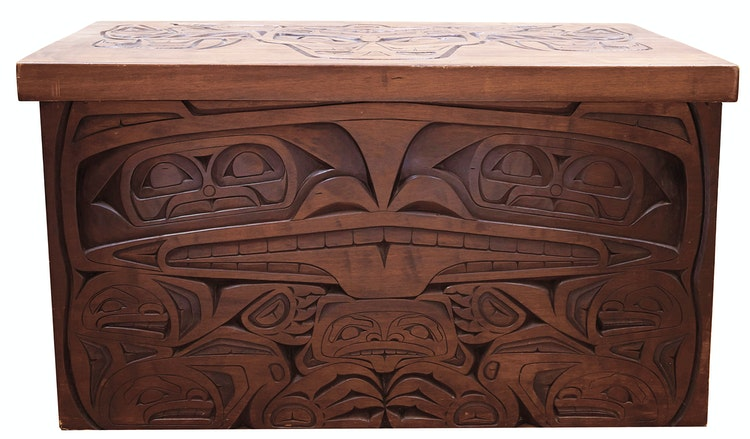 Artwork by  20th Century,  Carved Chest