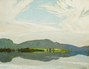 Artwork by Alfred Joseph Casson, Oxtongue Lake