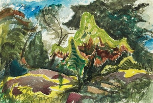 Artwork by Jack Hamilton Bush, Tangled Trees