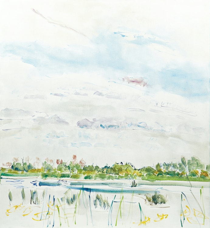 Artwork by Dorothy Elsie Knowles,  Reeds