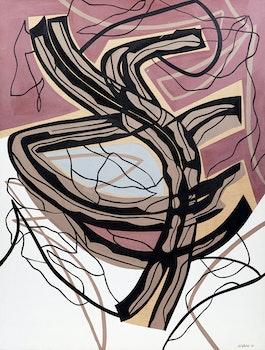 Artwork by Jean-Paul Jérôme, Route
