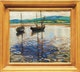 Thumbnail of Artwork by Doris Jean McCarthy,  Two Boats at Barachois