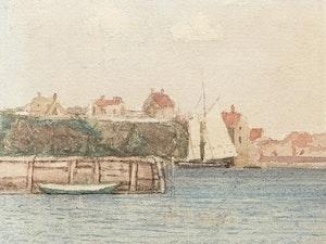 Artwork by James Wilson Morrice, At Gloucester