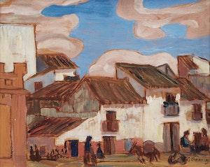 Artwork by Frederick Grant Banting, Seville, Spain, 1933