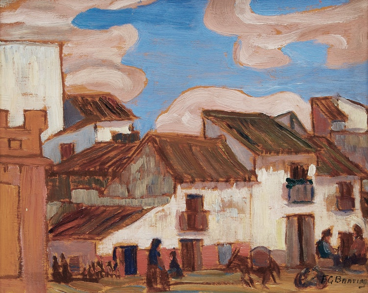 Artwork by Frederick Grant Banting,  Seville, Spain, 1933