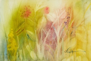 Artwork by Marjorie Pigott, Flowers
