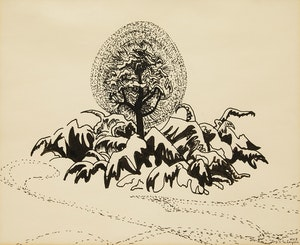 Artwork by Isabel McLaughlin, Untitled (Tree of Life)