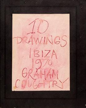 Artwork by John Graham Coughtry, 10 Drawings - Ibiza 1970