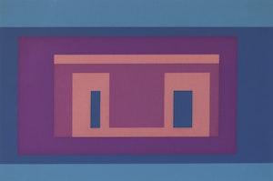 Artwork by Josef Albers, Variants 1967: IX