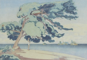 Artwork by Walter Joseph Phillips, Lake of the Woods, 1931