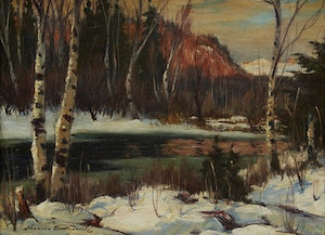 Artwork by Thomas Hilton Garside, Spring, Laurentians