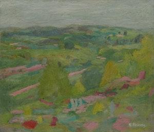 Artwork by William Goodridge Roberts, Spring Landscape