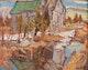 Thumbnail of Artwork by Ralph Wallace Burton,  Old Barn, Lanark County, Ont.