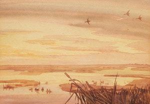 Artwork by Illingworth Holey Kerr, Western Marsh