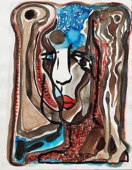 Artwork by Harold Klunder, Portrait