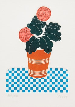Artwork by Fernando Torm-Toha, Potted Plant