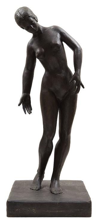 Artwork by Elisabeth Alice  Van Duffelen,  Nude