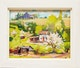 Thumbnail of Artwork by Bernice Fenwick Martin,  Summer Landscape with House