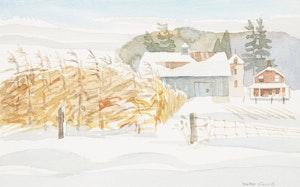Artwork by Walter Coucill, 'Golden Banners' Markham