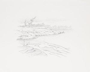 Artwork by Alfred Joseph Casson, Jackknife Bay