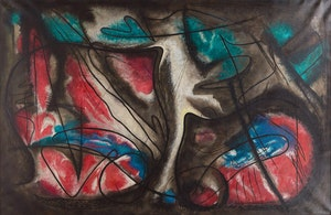Artwork by Rolph Scarlett, Untitled Abstraction