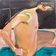 Thumbnail of Artwork by Leslie Donald Poole,  The Bather