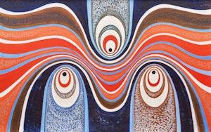 Artwork by Gordon McKinley Webber, Theme #3, Karman Trail