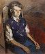 Thumbnail of Artwork by William Goodridge Roberts,  Seated Boy