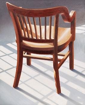 Artwork by Derrick McLarty, Chair Study