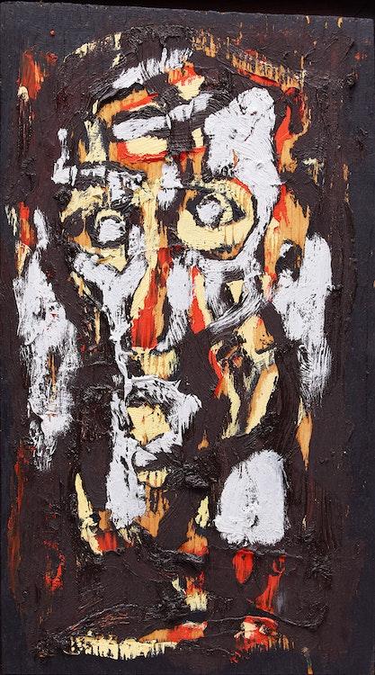 Artwork by Harold Klunder,  Untitled (Head Study)