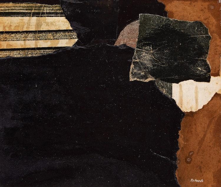 Artwork by Jean Richards,  Mysterious Landscape