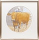 Thumbnail of Artwork by David Alexander Colville,  Prize Cow