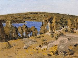 Artwork by William Goodridge Roberts, Autumn Landscape