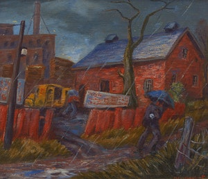 Artwork by Frederick Hagan, April Rain