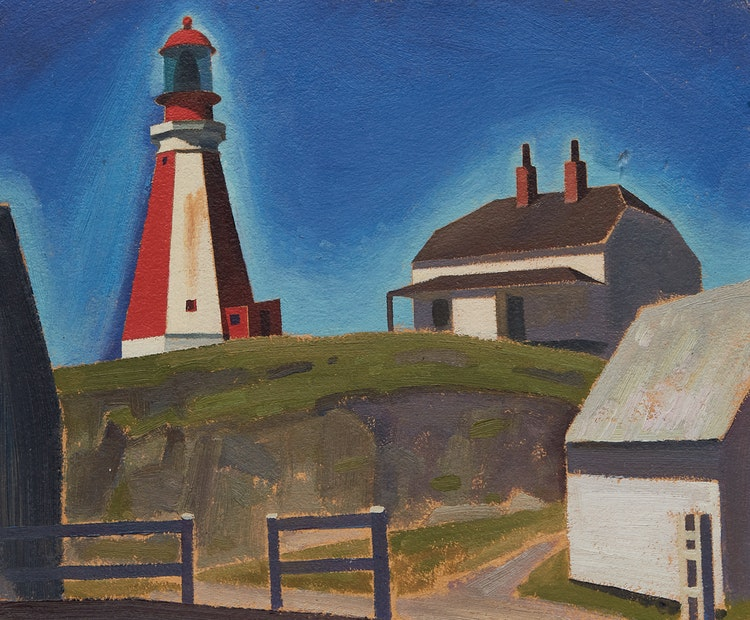 Artwork by Charles Fraser Comfort,  Yarmouth Light