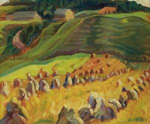 Artwork by Kathleen Francis Daly Pepper, St. Urbain