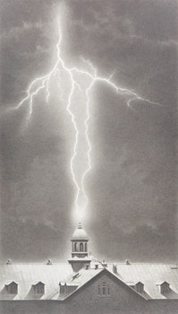 Artwork by Michael Thompson, Lightning