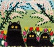 Thumbnail of Artwork by Maud Lewis,  Three Black Cats
