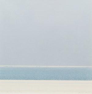 Artwork by Christopher Pratt, Strait of Belle Isle