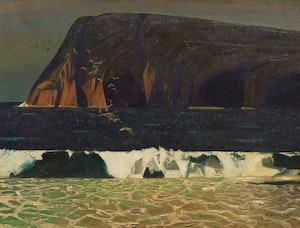 Artwork by Charles Fraser Comfort, Cape Smokey, Ingonish
