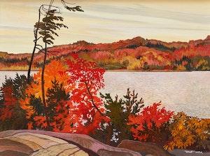 Artwork by Richard Ferrier, Montreal River