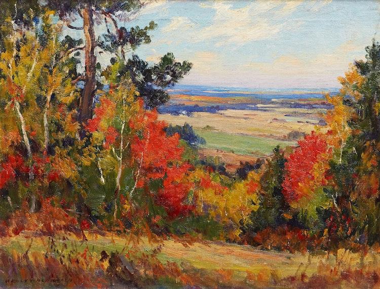 Artwork by Manly Edward MacDonald,  Autumn