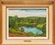 Thumbnail of Artwork by Philip Henry Howard Surrey,  Petit étang près de Lac Malaga