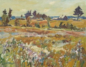 Artwork by Helmut Gransow, Summer Meadows