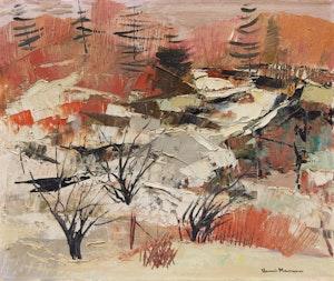 Artwork by Henri Leopold Masson, Winter Landscape