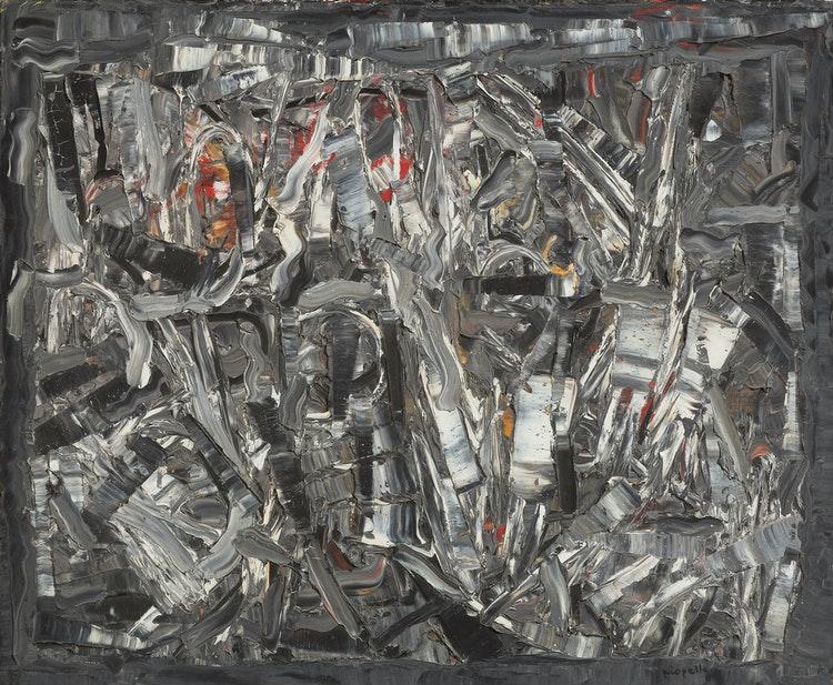 Jean Paul Riopelle, Dieppes (1965) Price Realized: $130,500