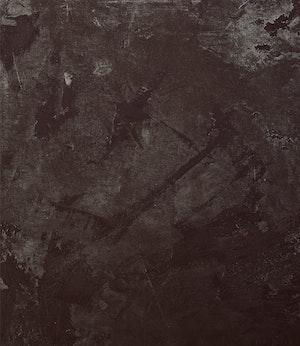 Artwork by Ronald Albert Martin, Scraped off Black Painting