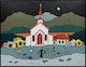 Thumbnail of Artwork by Ted Harrison,  Yukon Priest