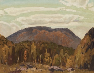 Artwork by Alfred Joseph Casson, Autumn Near Bancroft